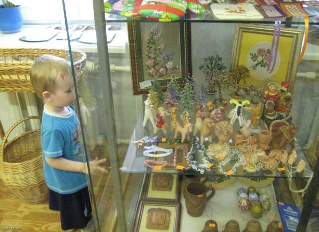 Сувениры и подарки, изготовленные детьми (Лебедянский Дом ремесел)