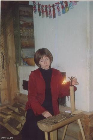 В интерактивном центре «Тульские древности» (Филиал музея «Куликово поле», г. Тула)
