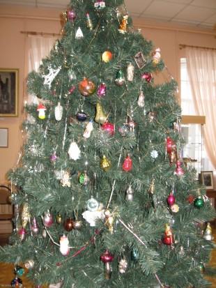 Новогодняя ёлка в Елецком музее ремесел