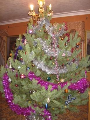 Новогодняя ёлка у Е.П. Крикунова