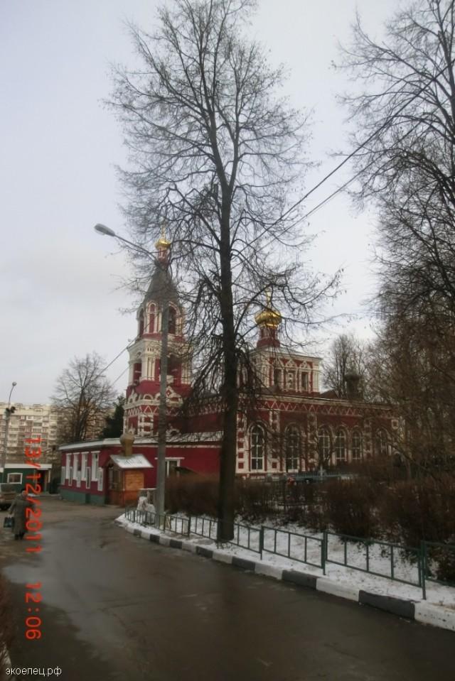 Церковь святой Параскевы Пятницы в Москве (Северное Бутово)