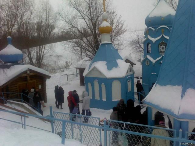 Святой источник в Ташле (Самарская область)