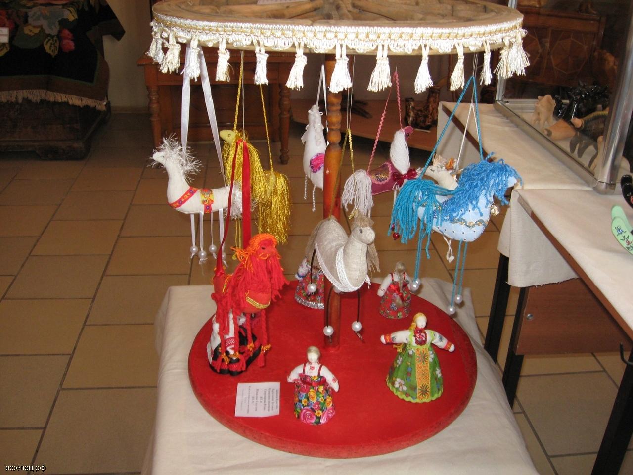 Выставка «Мир игрушки» в Музее Ремесел | ЭкоЕлец
