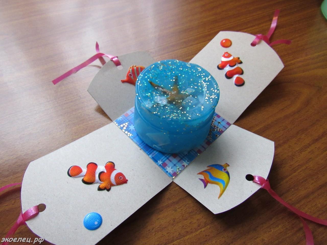 Самодельный подарки. 35 идей Море идей 21